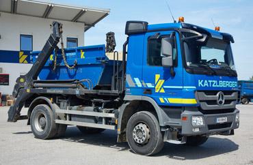 Entsorgung Absetzer LKW Container Recycling Abfallwirtschaft Container online Drecksack Umwelt